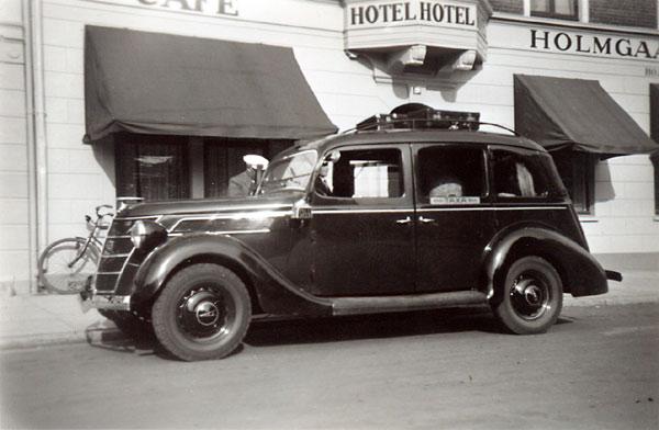 Gamle fotografier - biler 1