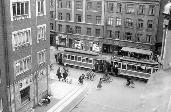 Københavns Sporveje - 1. juli 1945